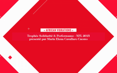 """Solidarité & Performance"" Trophy- NFL 2015"