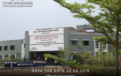 Official Inauguration of Foundation's 7th School Compound in India