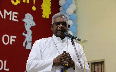 The Speech Delivered by The Most Rev. Dr. A. Neethinathan, Bishop Of Chingleput, during The Ceremony of June 22, 2019