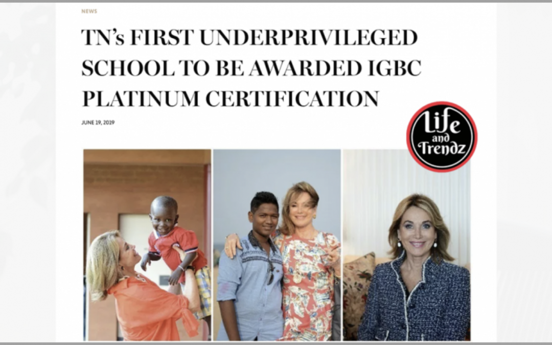 TN's First Underprivileged School To Be Awarded IGBC Platinum Certification