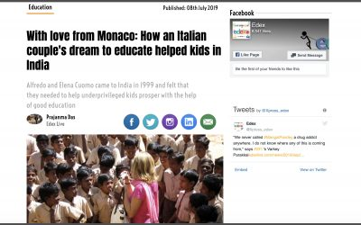 How an Italian Couple's Dream to Educate Helped Kids in India