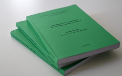 Publication of The Thesis by The Young Indian Theologian Supported by The Foundation