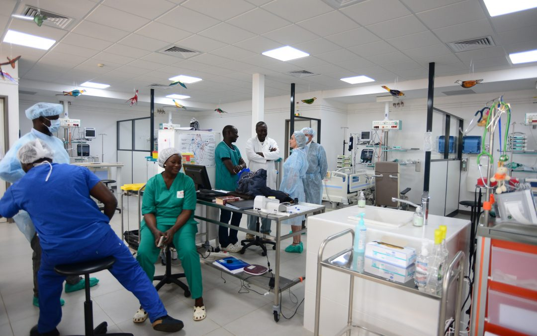 The CCPC helps reinforce the Senegalese hospital capacity in response to the COVID-19 emergency