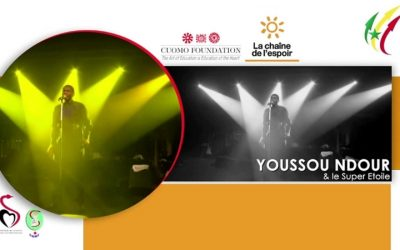 Solidarity Concert by Youssou N'Dour in Senegal