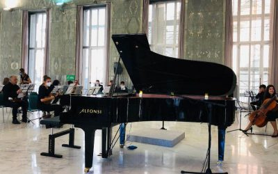 The Foundation attends young pianists concert held in historic museum by the FCA of Rome