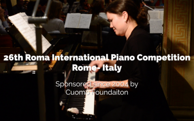 26th Roma International Piano Competition