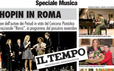 "Published in ""Il Tempo"", the Italian Newspaper founded in 1944"