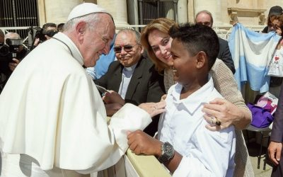 Meeting His Holiness Pope Francis